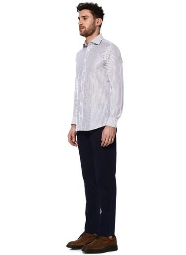 Çizgili Uzun Kollu Gömlek-Luciano Barbera